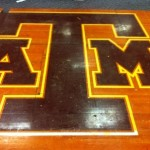 Original Texas A&M Basketball Floor Uncovered