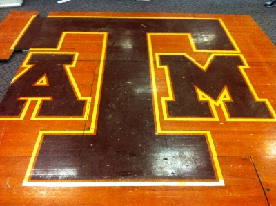 Texas A&M Basketball Court